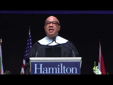 Darren Walker - 2018 Hamilton College Commencement Speaker