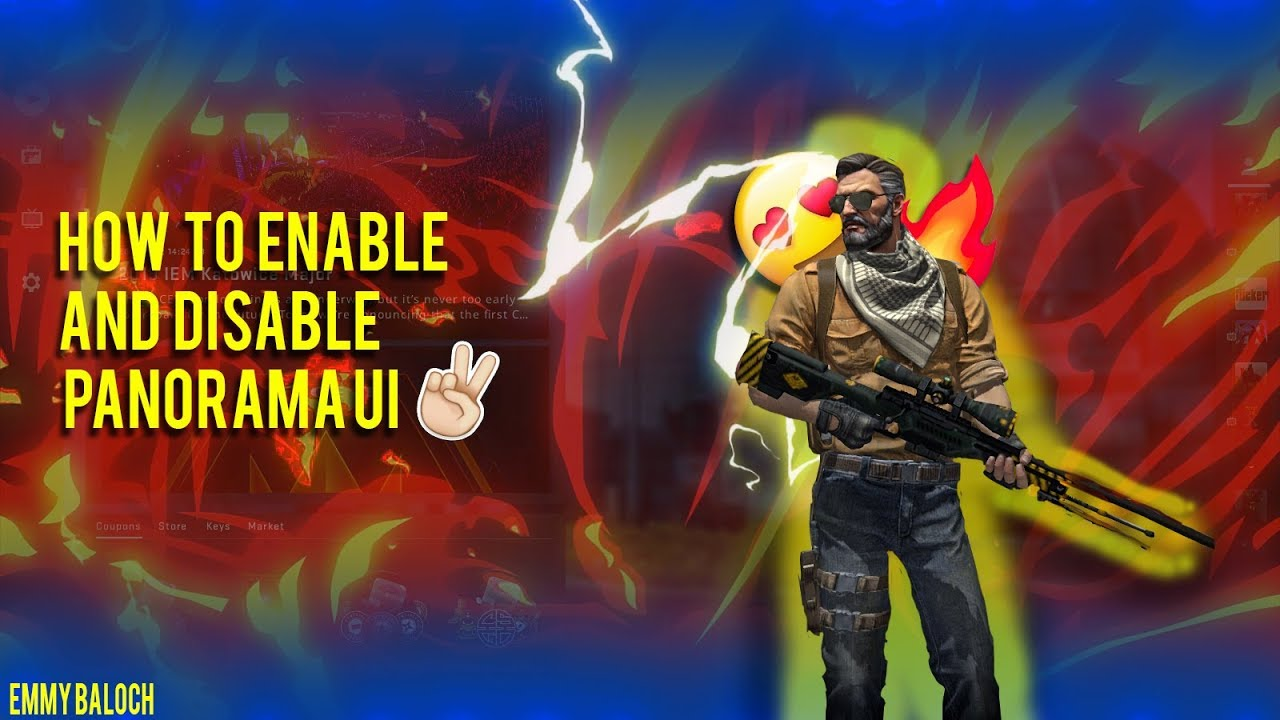 How to Enable and Disable PANORAMA UI | Tutorial | CSGO | 2K18