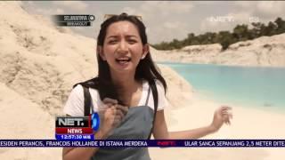 Manjakan Mata Dengan Keindahan Danau Dari Lubang Galian Timah Di Pangkal Pinang - NET12