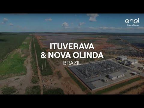 Enel Green Power in the world: Ituverava and Nova Olinda solar parks (Brazil)