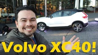 I got invited to an event with the new Volvo XC40!