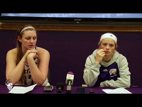 WIU wbb vs SDSU Press Conference (2/17/18)