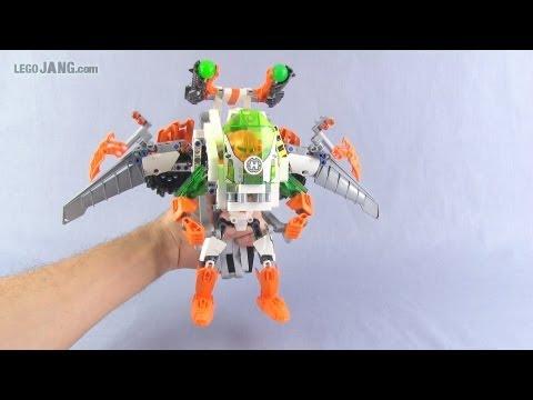 Lego Hero Factory Brain Attack Jet Nex Youtube