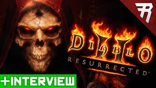 IT'S OFFICIAL: Diablo 2 Resurrected - Interview & Remastered Details (Gameplay)