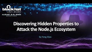 Discovering Hidden Properties to Attack the Node.js Ecosystem