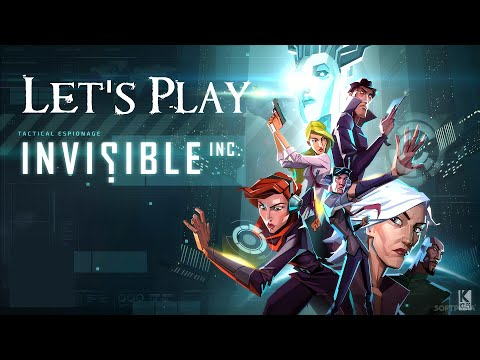 Let's Play Invisible Inc Episode 11 - Wait, This One Should Be Called Recovery
