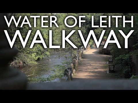 WATER OF LEITH WALKWAY, EDINBURGH
