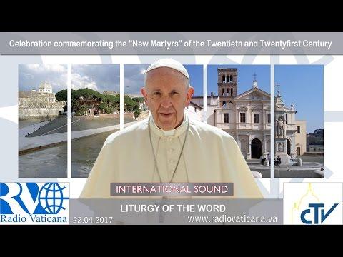 "2017.04.22 Celebration commemorating the ""New Martyrs"" of the Twentieth and Twentyfirst Century"