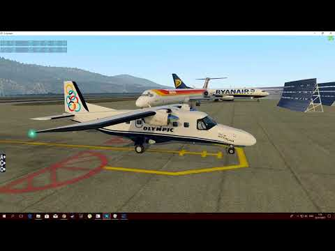X Plane 11.10  Departure LGMT- Carenado DO228