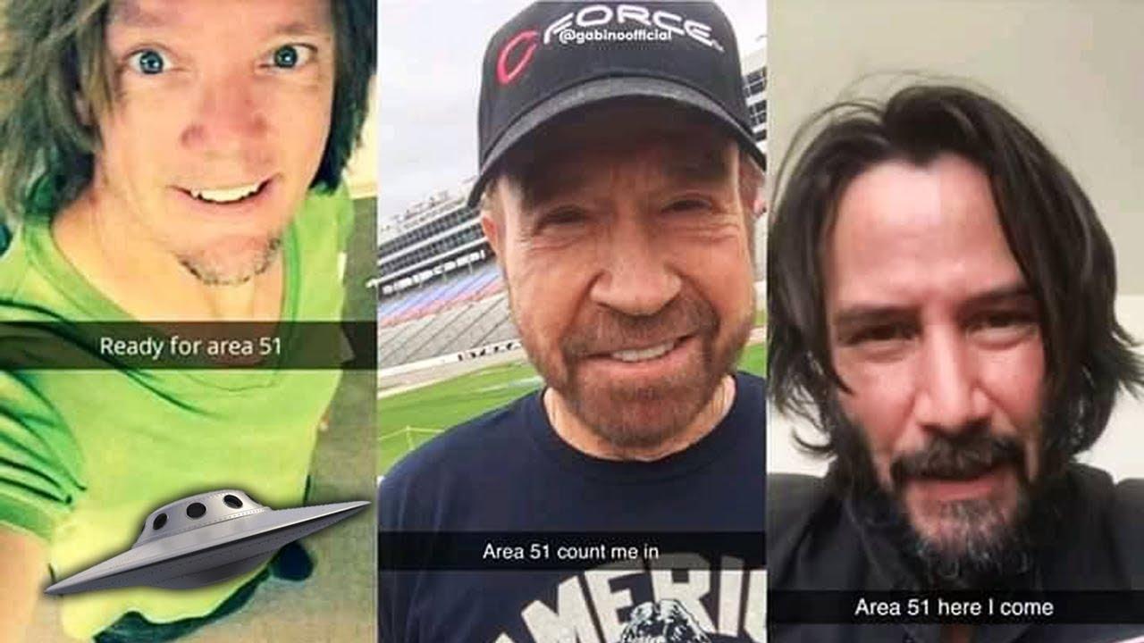 Shaggy, Chuck Norris & Keanu Reeves irán al Área 51 – Dracer News