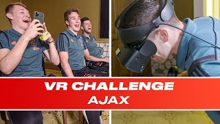 Just don't look down!: Can Dusan Tadic and Ajax's Stars Walk The Plank? | VR Challenge E02