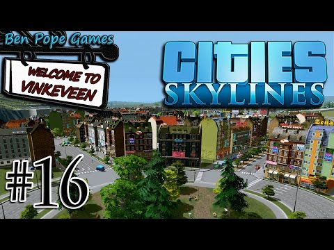 Cities: Skylines - (European Themed City) - #16 Parks inside Roundabouts