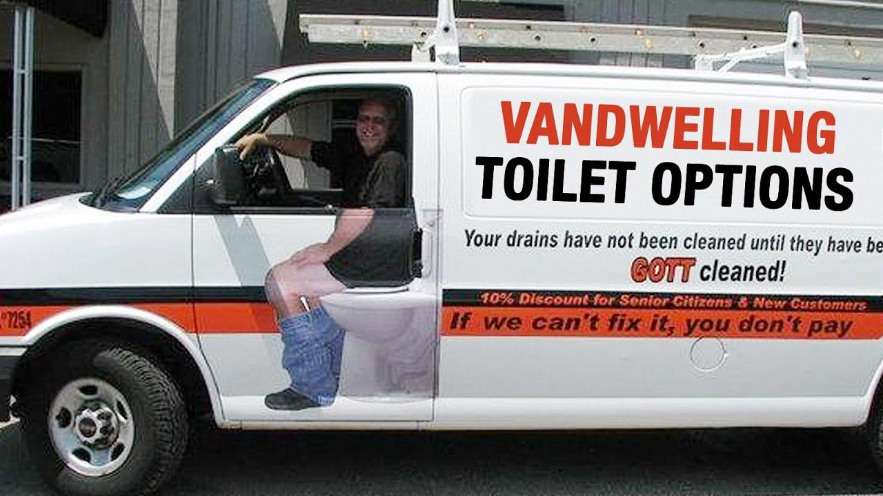Vw Camper Van >> Living in a Van: What Kind of Toilet to Use - YouTube