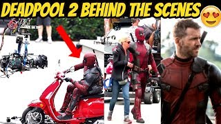 Deadpool 2  Behind the Scenes Ft. Domino - I'm Filmy Exclusive - 2017