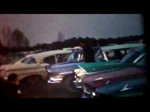 Vintage 8mm Film/ Louisa Drag Stip- Louisa, VA
