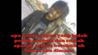 edane-tell me why(lirik)by Bhedh Dhodh Fabregas