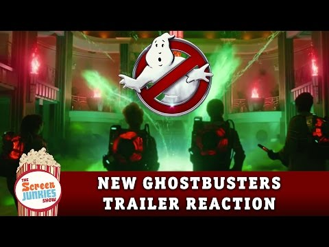 Ghostbusters (2016) Trailer Reaction & Breakdown!