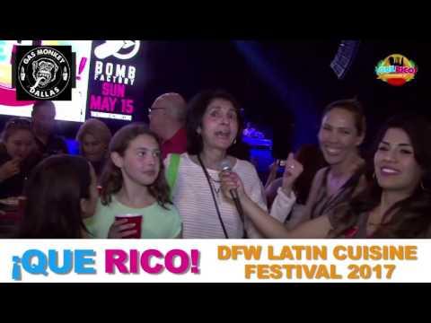 QUE RICO! DFW Latin Cuisine Fest2017