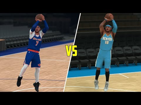 Braids Carmelo Anthony Vs All-Time Carmelo Anthony 1V1! NBA 2K18 Challenge!