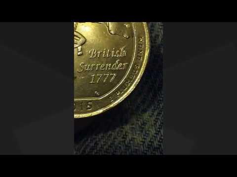 2015 Saratoga Quarter Rare Error Coin
