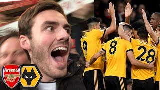 DISAPPOINTED TO DRAW!? Arsenal Vs Wolves 1-1 Matchday Vlog