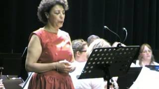 Summertime Gershwin Malika Bellaribi-Le Moal Harmonie Municipale d'Avion Concert du 18 juin 2013