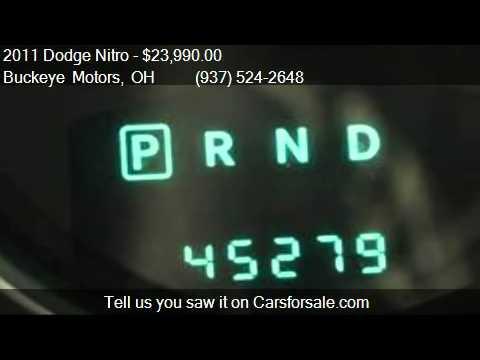 2011 Dodge Nitro Detonator For Sale In Troy Oh 45373 At