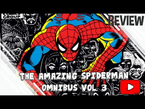 review:-amazing-spiderman-omnibus-vol.-3-de-stan-lee,-romita-sr,-buscema-y-gil-kane
