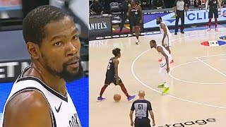 Kevin Durant Gets Embarrassed With Kyrie Irving By Collin Sexton Crazy Takeover! Nets vs Cavaliers