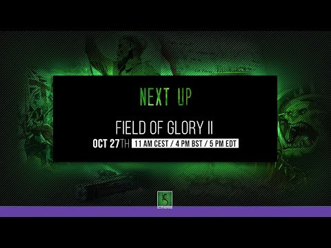 Field of Glory II 5:00 PM - 6.00 PM CEST!!!