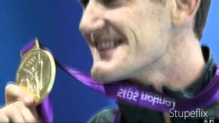 Cameron Van Der Burgh Wins Gold, World Record In Mens 100M Breaststroke At London Olympics 2012