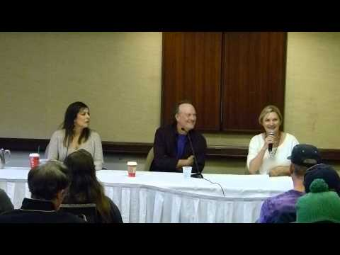 Marina Sirtis, Dwight Schultz and Denise Crosby Q & A Super Megafest November 23rd, 2014 Part One