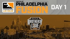Overwatch League 2020 Season | Hosted By Philadelphia Fusion | Day 1