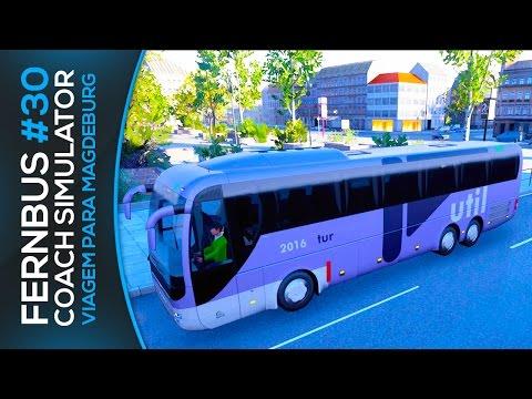 Fernbus Coach Simulator - Viagem para Magdeburg Skin da Util