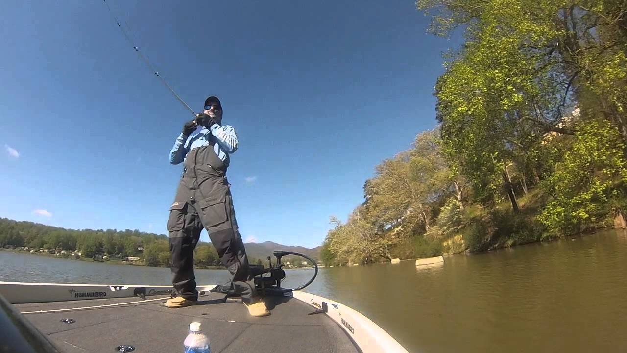 Lake junaluska fishing youtube for Lake junaluska fishing
