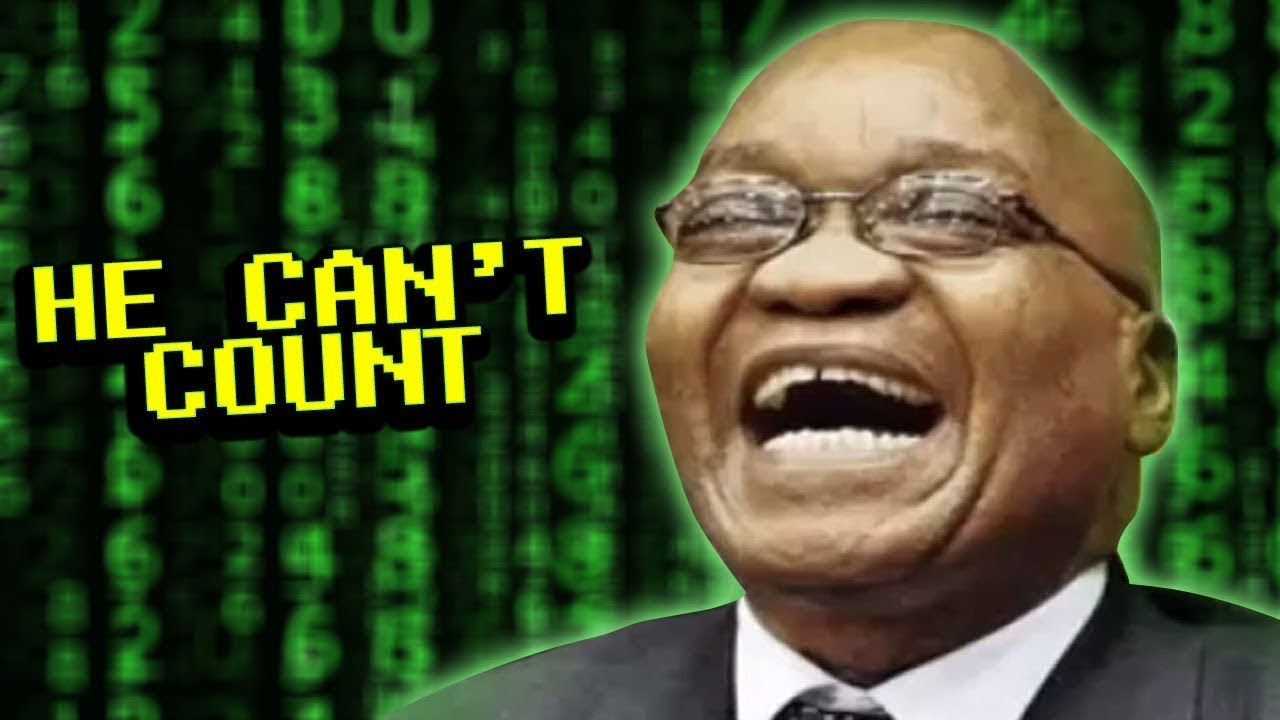 The president of South Africa's Numbers - Cringe Tuesdays #7