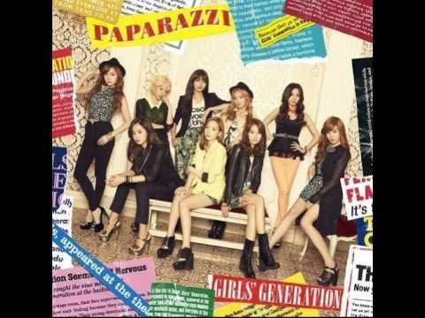 Paparazzi Lyric Girls Generation SNSD
