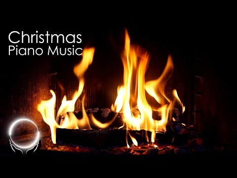 Merry Christmas: Instrumental Christmas Music with Fireplace 24/7 - Piano Music, Stress Relief