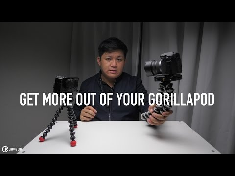 4 Extra ways of using a GorillaPod by Chung Dha