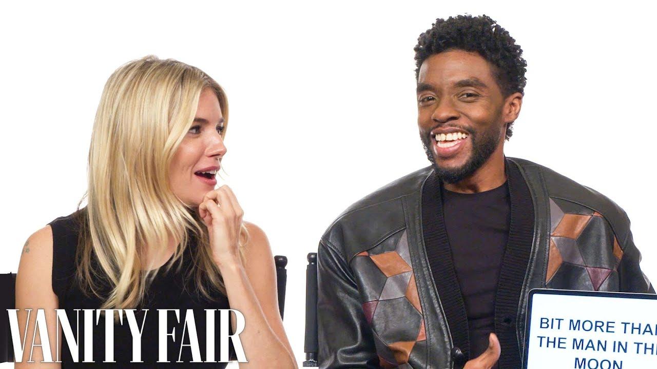 Chadwick Boseman and Sienna Miller Teach You South Carolina and British  Slang   Vanity Fair - YouTube