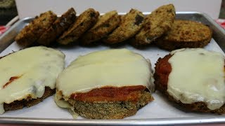Air Fried Eggplant Parmesan ~ Featuring the Power Air Fryer Oven ~ Noreen's Kitchen