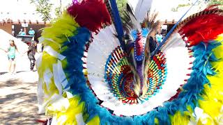 NM State Fair 2018 -  Indian Village - Round Dance