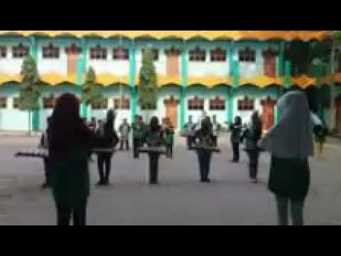 marching band eMBADA latihan #MTs Manba'ul Huda Tanggung harjo Grobogan