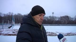 Новостной выпуск от 01.12.2020: На стадионе «Труд» состоялось открытие ледовой площадки