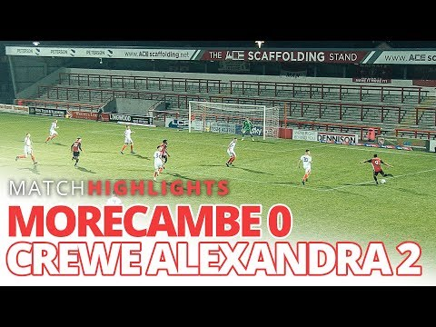 FA YOUTH CUP | Morecambe 0-2 Crewe Alexandra