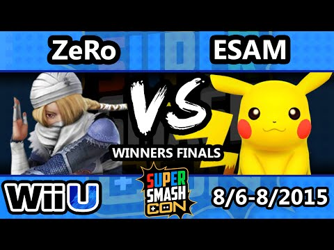 Best set in Sm4sh so far - SSC - ZeRo (Sheik) Vs. Esam (PIkcahu) SSB4 Winners Finals
