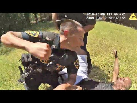 Greenville Deputy Repeatedly Punches Man After Resisting Arrest
