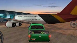 Slam Jam Pickup Truck Landing on a Plane - Dubai Drift 2