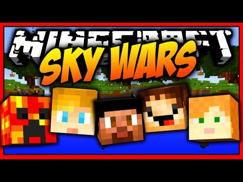 5 MAN MINECRAFT MEGA SKYWARS