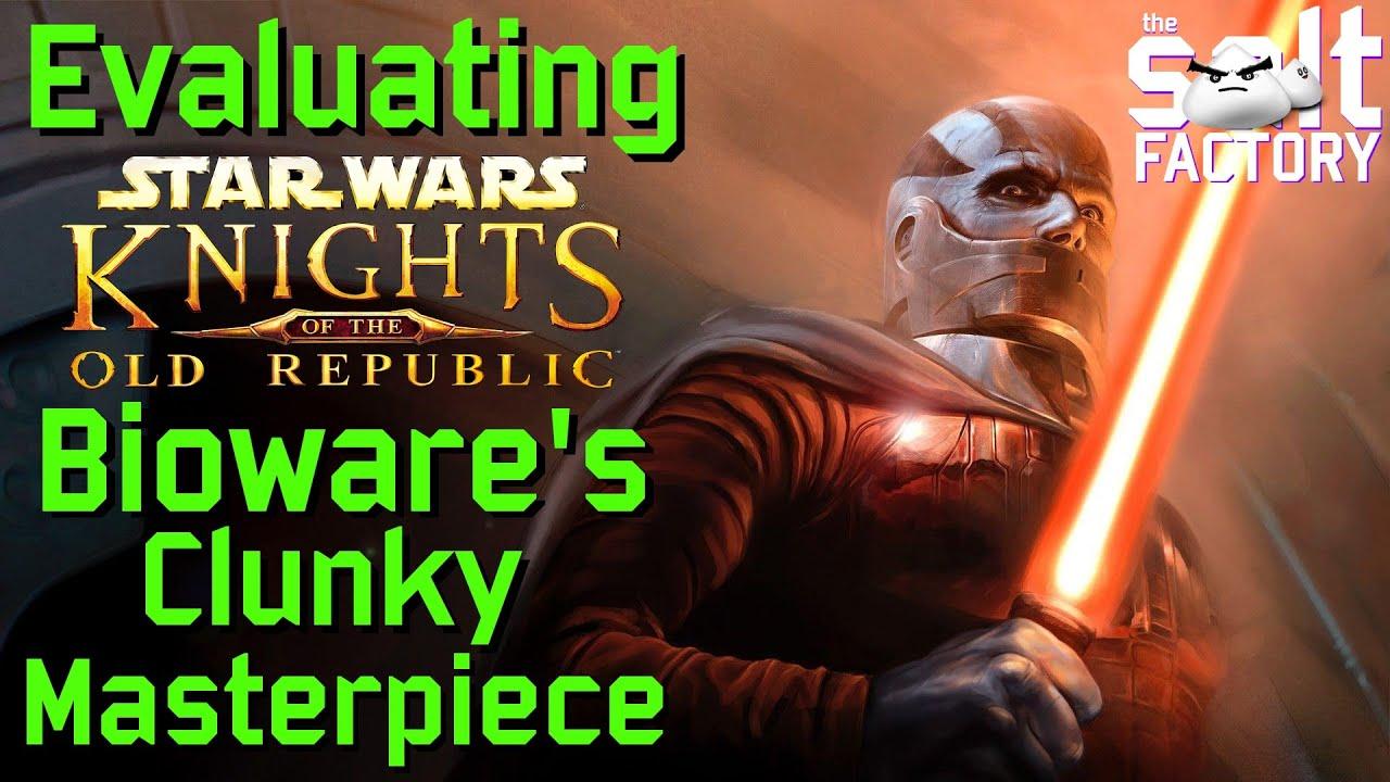 Star Wars KOTOR: Bioware's Clunky Masterpiece